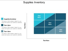 Supplies Inventory Ppt PowerPoint Presentation Model Templates