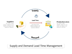 Supply And Demand Lead Time Management Ppt PowerPoint Presentation Slides Display PDF