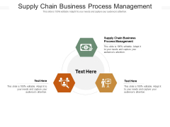Supply Chain Business Process Management Ppt PowerPoint Presentation Infographic Template Gallery Cpb Pdf