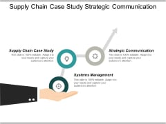 Supply Chain Case Study Strategic Communication Systems Management Ppt PowerPoint Presentation Professional Example Introduction