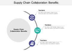 Supply Chain Collaboration Benefits Ppt PowerPoint Presentation File Diagrams Cpb