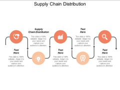 Supply Chain Distribution Ppt PowerPoint Presentation Inspiration Graphics Tutorials Cpb