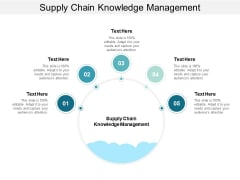 Supply Chain Knowledge Management Ppt PowerPoint Presentation File Slide Cpb