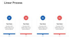 Supply Chain Logistics Linear Process Ppt Infographics Layout PDF
