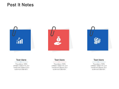 Supply Chain Logistics Post It Notes Ppt Infographics Graphics Design PDF