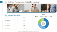 Supply Chain Management Budget Forecasting Icons PDF