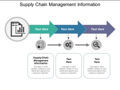 Supply Chain Management Information Ppt PowerPoint Presentation File Outfit