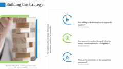 Supply Chain Management Operational Metrics Building The Strategy Ppt File Design Inspiration PDF