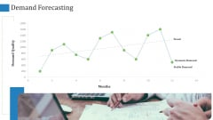 Supply Chain Management Operational Metrics Demand Forecasting Slides PDF