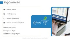 Supply Chain Management Operational Metrics EOQ Cost Model Ppt Show Model PDF