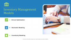 Supply Chain Management Operational Metrics Inventory Management Models Formats PDF