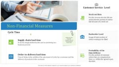 Supply Chain Management Operational Metrics Non Financial Measures Structure PDF