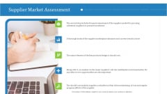 Supply Chain Management Operational Metrics Supplier Market Assessment Guidelines PDF