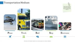 Supply Chain Management Operational Metrics Transportation Medium Ppt Gallery Background PDF