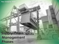 Supply Chain Management Phases Ppt PowerPoint Presentation Complete Deck With Slides
