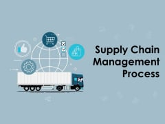 Supply Chain Management Process Ppt PowerPoint Presentation Complete Deck With Slides