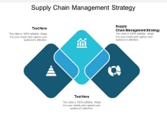 Supply Chain Management Strategy Ppt PowerPoint Presentation Outline Examples Cpb
