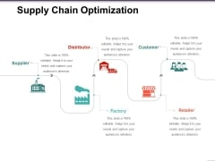 Supply Chain Optimization Template 2 Ppt PowerPoint Presentation Model Gridlines