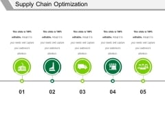 Supply Chain Optimization Template 2 Ppt PowerPoint Presentation Model Ideas