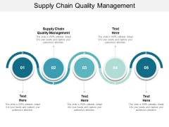 Supply Chain Quality Management Ppt PowerPoint Presentation Diagram Templates Cpb
