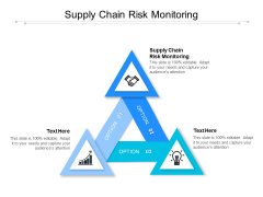 Supply Chain Risk Monitoring Ppt PowerPoint Presentation Model Backgrounds Cpb