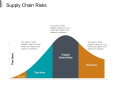Supply Chain Risks Ppt PowerPoint Presentation Infographic Template File Formats Cpb