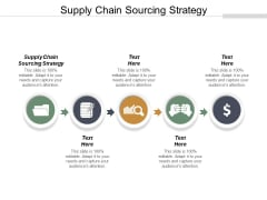 Supply Chain Sourcing Strategy Ppt PowerPoint Presentation Layouts Maker Cpb