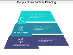 Supply Chain Tactical Planning Ppt PowerPoint Presentation Pictures Rules PDF
