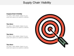 Supply Chain Visibility Ppt PowerPoint Presentation Ideas Pictures Cpb