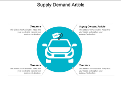 Supply Demand Article Ppt PowerPoint Presentation Gallery Background Image Cpb