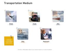 Supply Network Logistics Management Transportation Medium Ppt Pictures Guide PDF