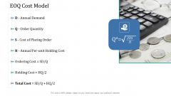 Supply Network Management Growth EOQ Cost Model Ppt Infographics Gridlines PDF
