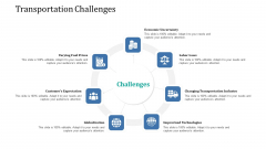 Supply Network Management Growth Transportation Challenges Ppt Styles Model PDF
