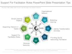 Support For Facilitation Roles Powerpoint Slide Presentation Tips