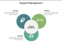 Support Management Ppt PowerPoint Presentation Model Professional Cpb