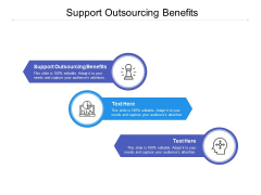 Support Outsourcing Benefits Ppt PowerPoint Presentation Gallery Show Cpb