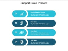 Support Sales Process Ppt PowerPoint Presentation Styles Aids Cpb