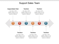 Support Sales Team Ppt PowerPoint Presentation Styles Format Cpb
