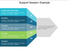 Support Session Example Ppt PowerPoint Presentation Model Tips Cpb