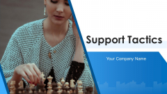 Support Tactics Plan Analyze Ppt PowerPoint Presentation Complete Deck With Slides