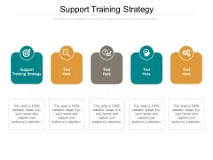 Support Training Strategy Ppt PowerPoint Presentation Ideas Introduction Cpb