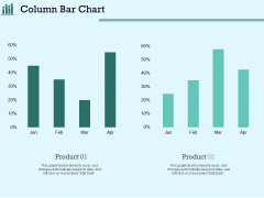 Survey Analysis Gain Marketing Insights Column Bar Chart Template PDF
