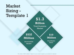 Survey Analysis Gain Marketing Insights Market Sizing Serviceable Infographics PDF
