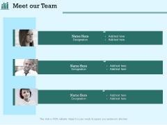 Survey Analysis Gain Marketing Insights Meet Our Team Formats PDF