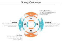 Survey Companys Ppt PowerPoint Presentation Layouts Templates Cpb