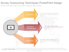 Survey Outsourcing Techniques Powerpoint Design