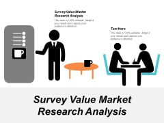 Survey Value Market Research Analysis Ppt PowerPoint Presentation Infographics Sample Cpb