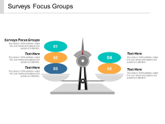 Surveys Focus Groups Ppt PowerPoint Presentation File Show Cpb