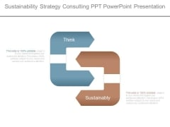 Sustainability Strategy Consulting Ppt Powerpoint Presentation