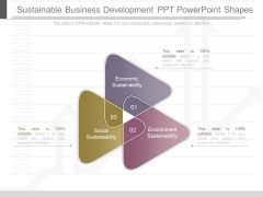 Sustainable Business Development Ppt Powerpoint Shapes